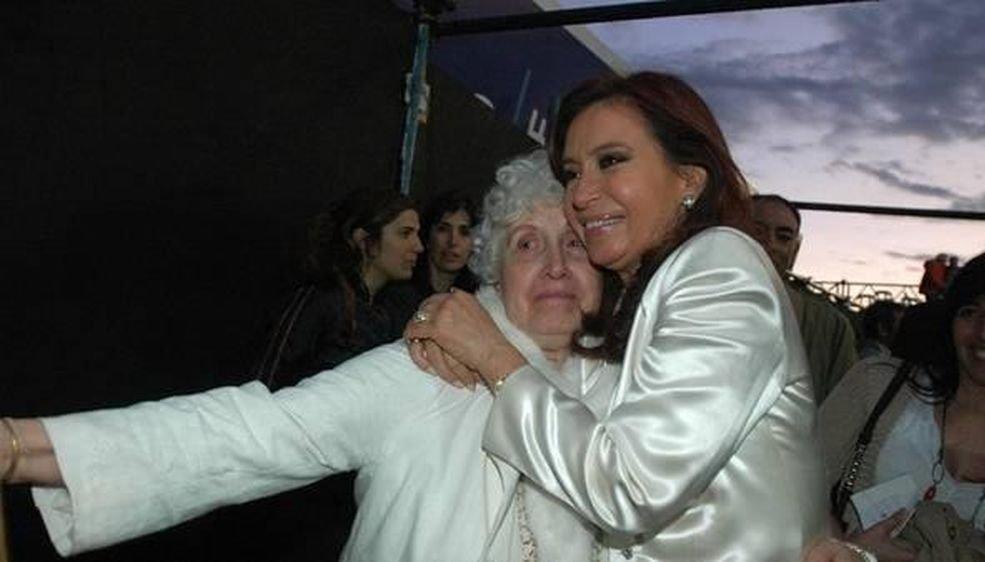 Falleció Ofelia Wilhelm, madre de Cristina Fernández de Kirchner