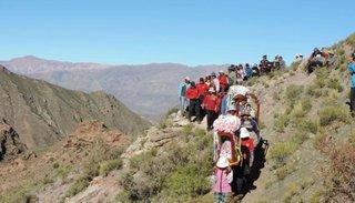Peregrinos partirán hacia la Virgen de Cuchillaco