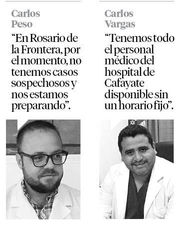 Hospitales del interior se alistan para atender los casos de COVID-19