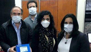 Donaron 2.000 reactivos para la prueba de verificación de coronavirus