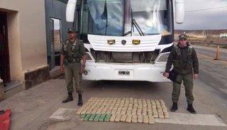 Secuestran cargamento de hoja de coca valuado en $672.000