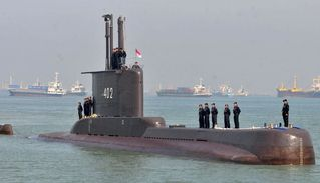 Desapareció un submarino en Indonesia con 53 personas a bordo