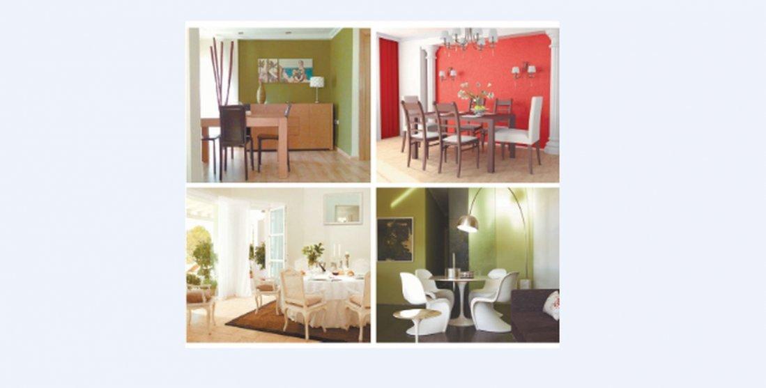 Colores para pintar un comedor moderno