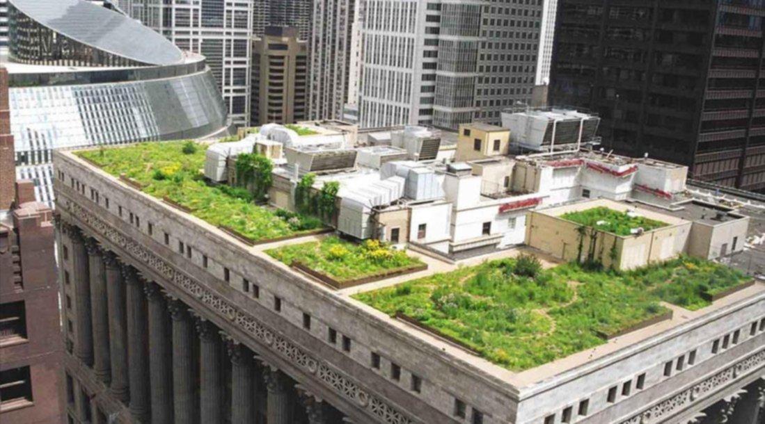 Se Trabaja Para Tener Terrazas Verdes