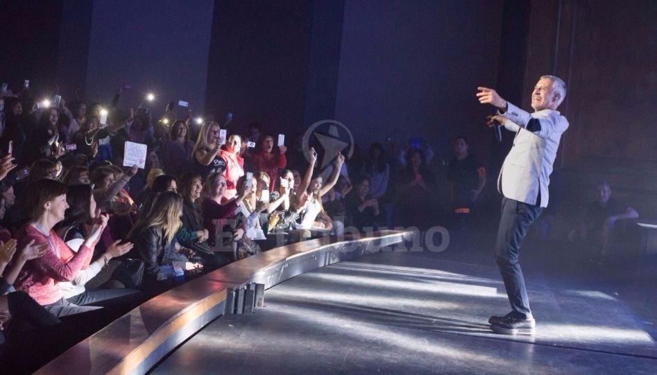 El show de Sergio Dalma en Salta. Jan Touzeau