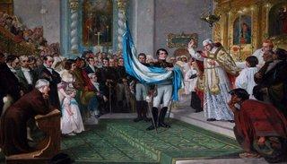 Resultado de imagen para bendicion de la bandera en salta