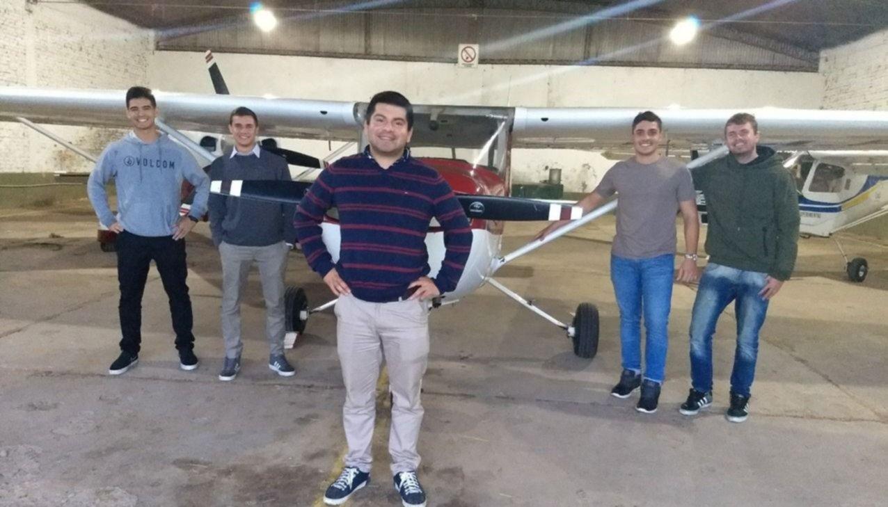La ciudad cuenta con cinco nuevos pilotos civiles