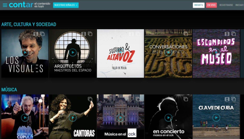 """El Gobierno lanzó Cont.ar, el """"Netflix"""" nacional por donde podrás ver el mundial Rusia 2018"""