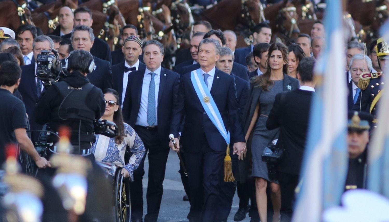 El Presidente participó del Tedeum y ofrece un locro en Olivos