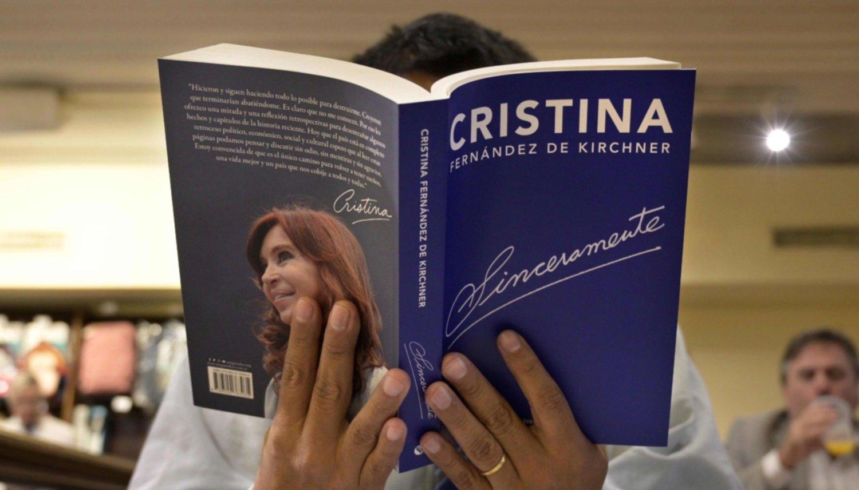Así será la presentación del libro de Cristina Kirchner en La Rural