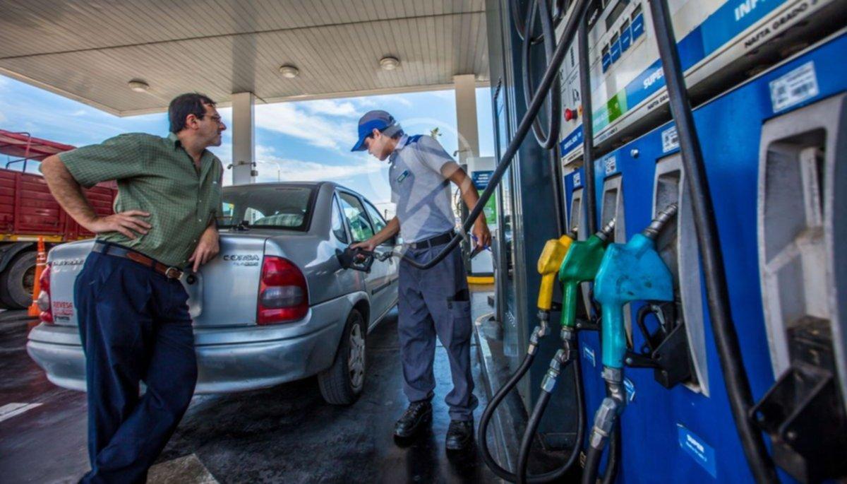 Volverán a subir por el impuesto al dióxido de carbono — Combustibles