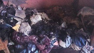 Un hombre perdió  todo en un voraz incendio en su casa