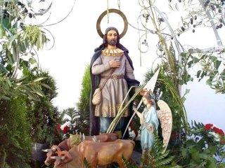 Hoy es el día de San Isidro Labrador, patrono de los agricultores