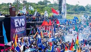 El Tribunal Supremo declaró ganador a Evo Morales