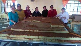 Festejan hoy el Día de Metán con una torta de 800 kilos