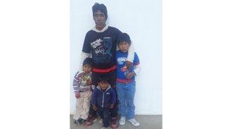 Claman ayuda para 4 hermanitos