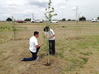 Chicos con compromiso ecológico
