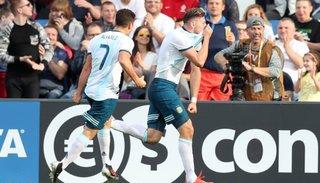 Por el buen camino: Argentina derrotó a Portugal 2 a 0 y selló el pase a octavos