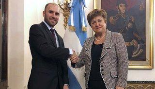 Georgieva sobre Argentina: