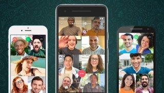 WhatsApp ya permite hacer videollamadas con hasta 50 personas
