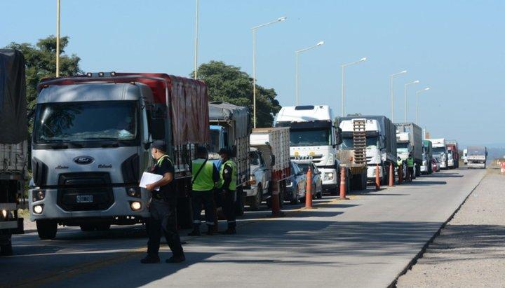 control jujuy camiones testeos