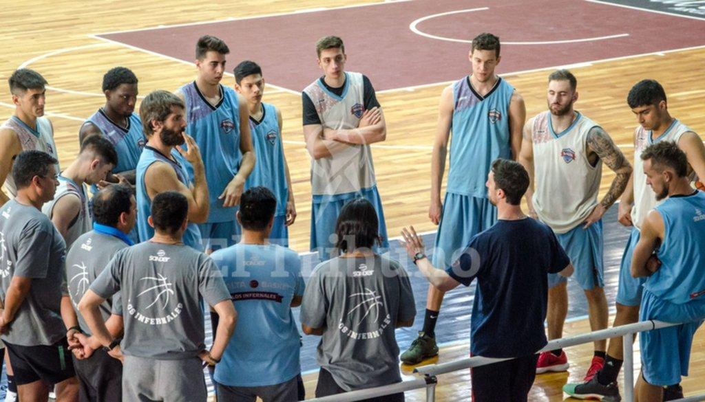 Salta Basket pudo cumplir y está al día con sus jugadores
