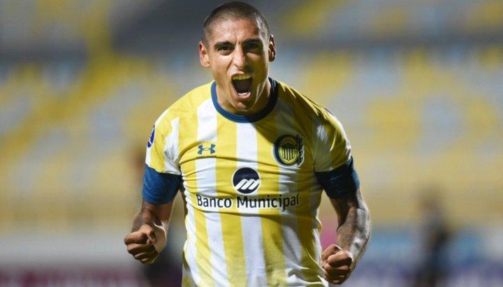 Rosario Central rescató un empate ante Huachipato en Chile