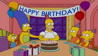 Homero Simpson cumple 65 años