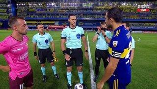 Boca aburrió y empató con Barcelona de Ecuador en la Bombonera