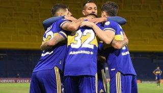 Boca Juniors goleó y se  clasificó a los octavos