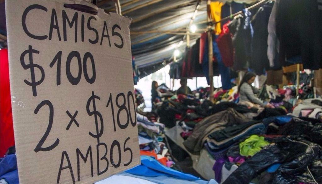 925259cca736 Las ferias de ropa usada, poco afectadas