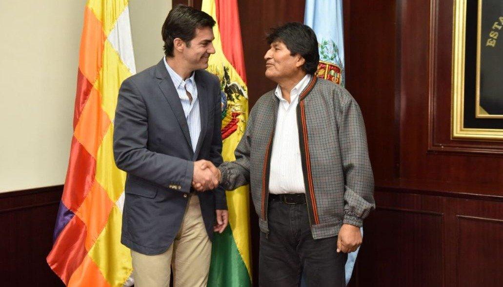 Urtubey y Evo acordaron avanzar en  un desarrollo productivo regional
