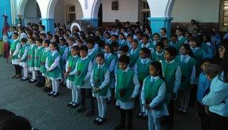 Niños hicieron la promesa de proteger el ambiente donde viven
