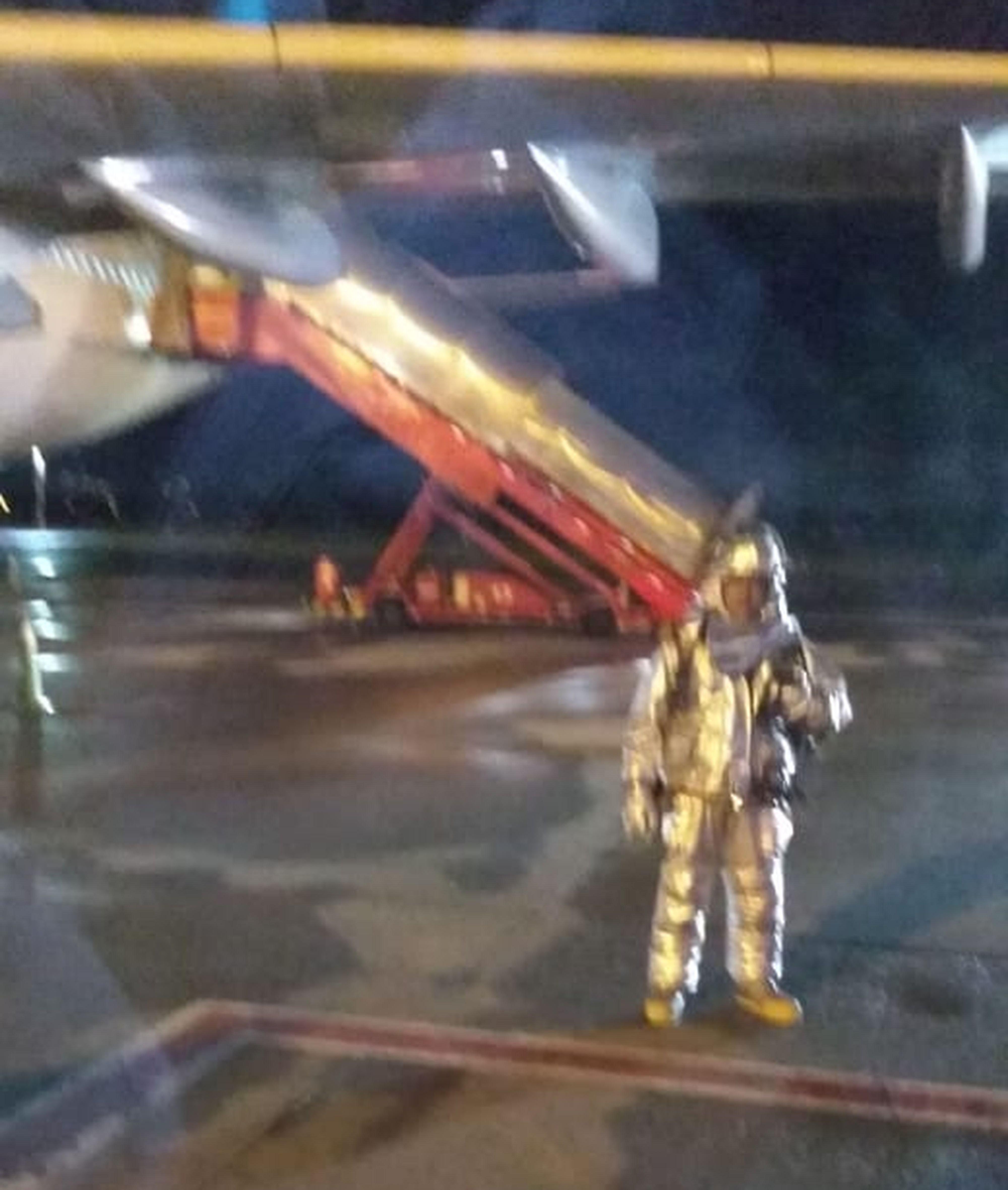 Aterrizó de emergencia un vuelo de Aerolíneas en Bogotá