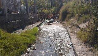 Antiguas pérdidas de  agua perjudican al  barrio San Antonio