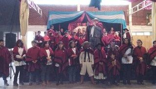 Alumnos organizaron por  primera vez el acto de Güemes