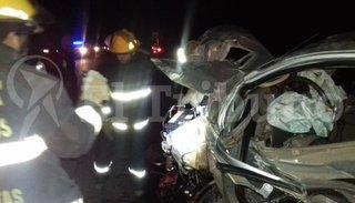 Terrible accidente vial en la ruta provincial Nº 5: hay tres víctimas fatales