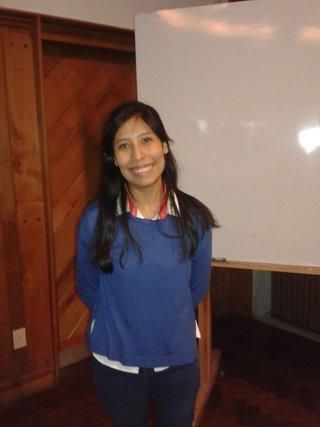 La joven Laura Cruz se convirtió hoy en la primera ingeniera nuclear salteña