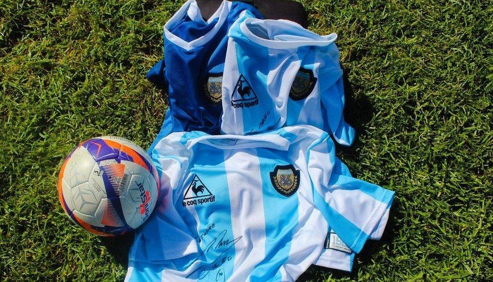 Se venden desde hoy los números para el sorteo de la camiseta de Maradona