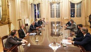 El Presidente recibió al Consejo Agroindustrial en medio del conflicto con el campo