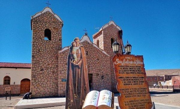 Hoy es el Día de San Antonio, patrono de varios municipios salteños