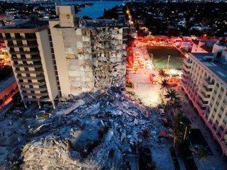 Aumentó a 18 el número de fallecidos tras el colapso del edificio en Miami