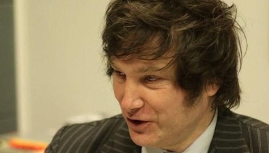 Declaran persona no grata al economista Javier Milei
