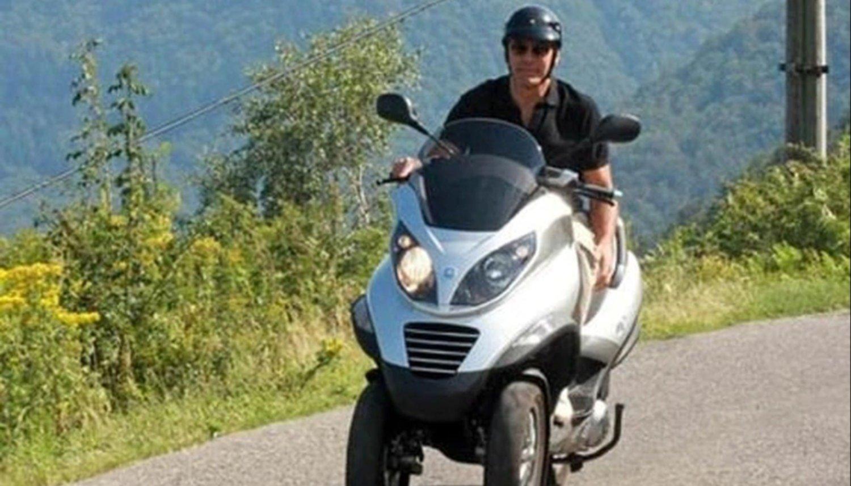 George Clooney, herido leve tras sufrir un accidente de moto en Cerdeña