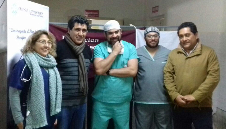 Realizan  cirugías  gratuitas  a unos 40  pacientes