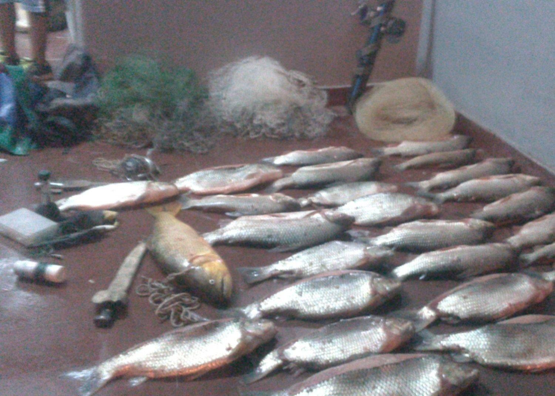 Advierten que sigue  la depredación de  peces en El Tunal