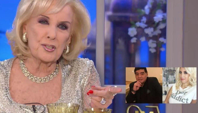 Revelan detalles de la noche que Wanda Nara pasó con Maradona