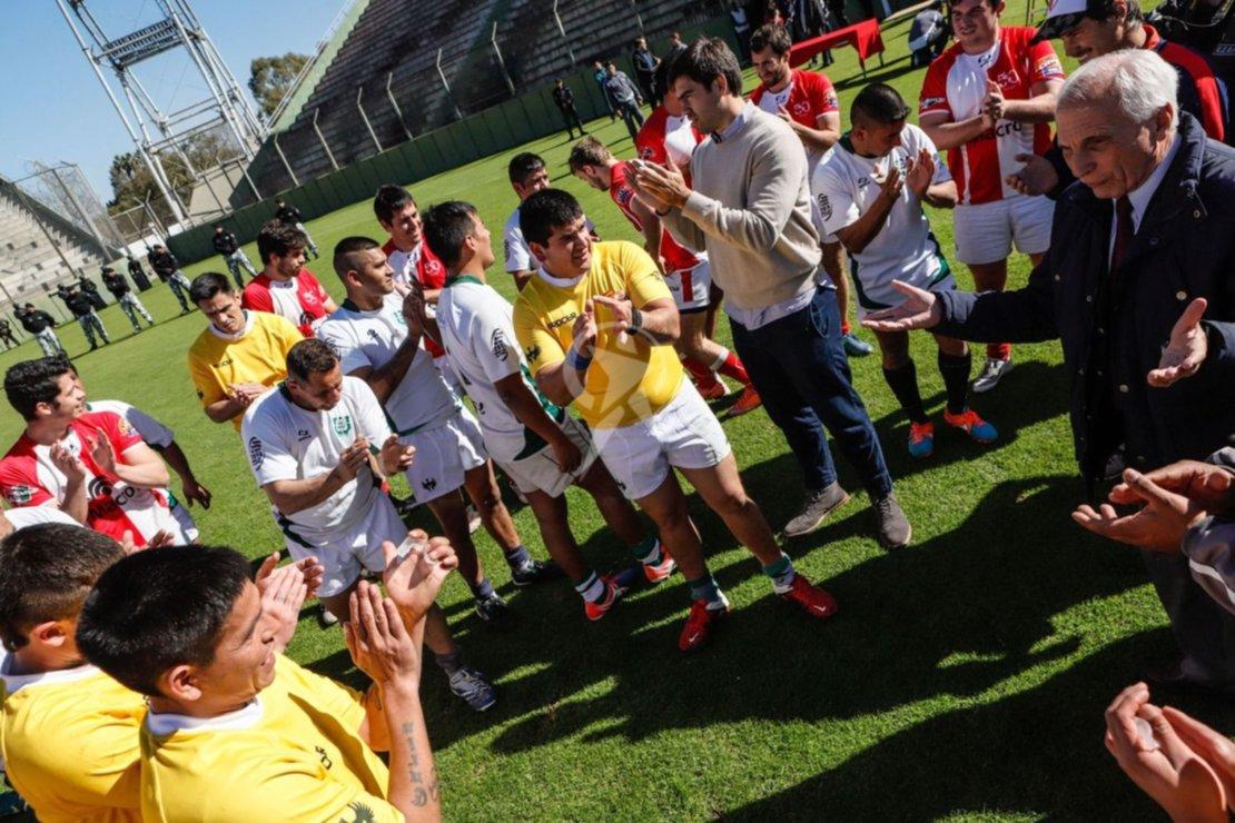 Infernales le puso libertad a sus ganas de jugar al rugby. Foto: Andrés Mansilla.