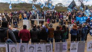 El acto por Palomitas tuvo un cierto color electoral y llamaron a la unidad