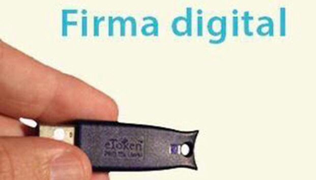 Firma digital para facilitar los trámites